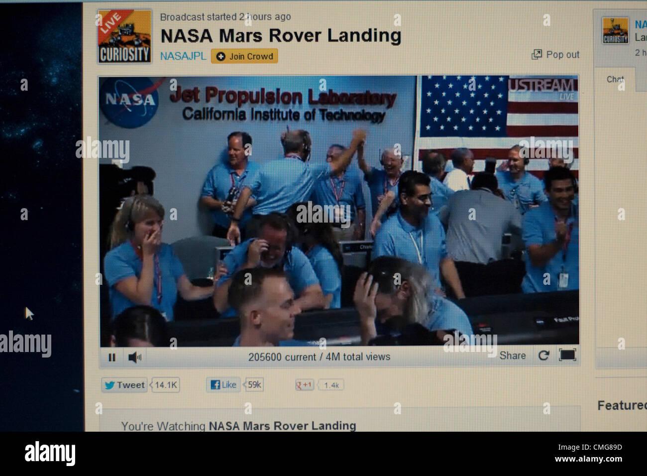 mars landing live stream uk - photo #27