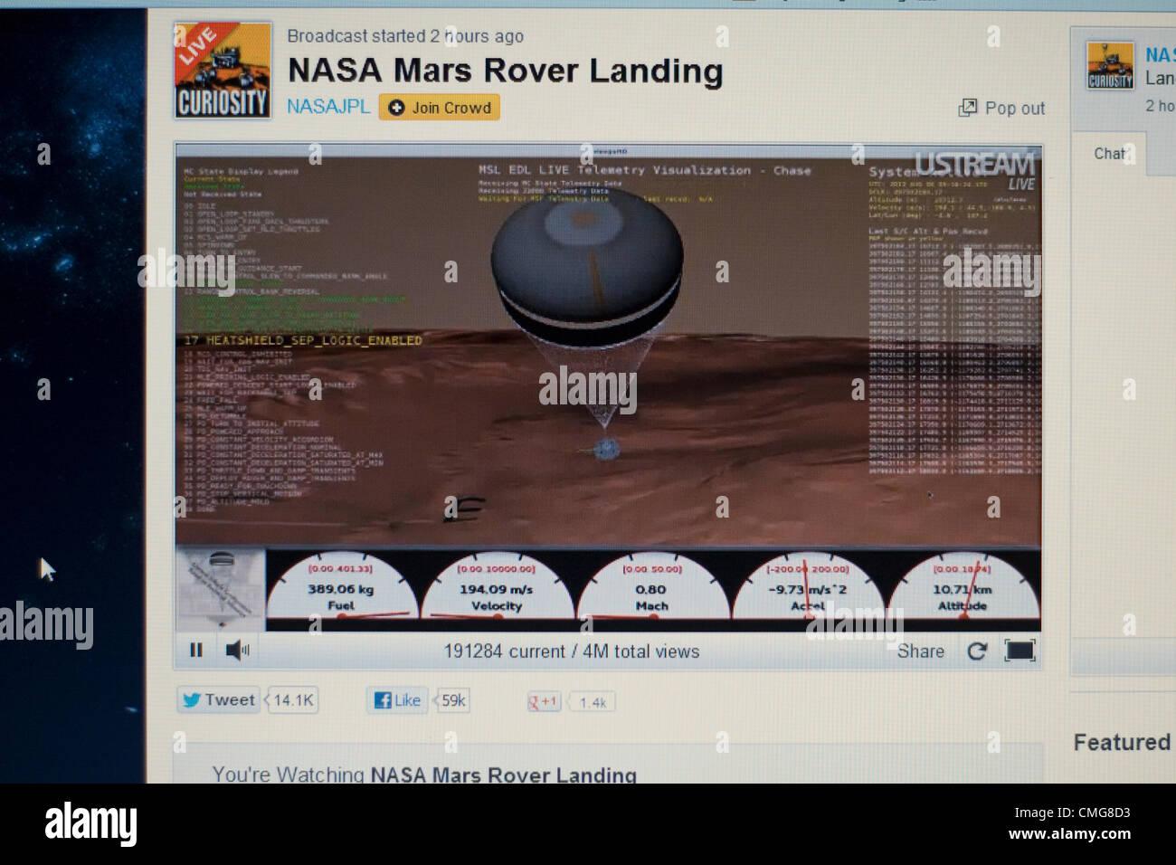 live stream of mars landing - photo #34