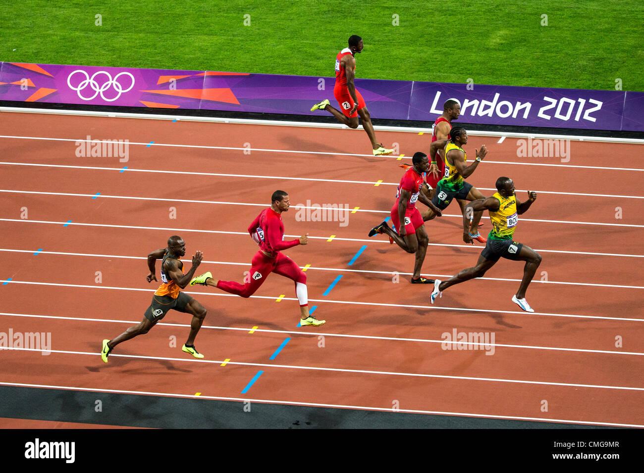 London 2012 Mens 100m Final