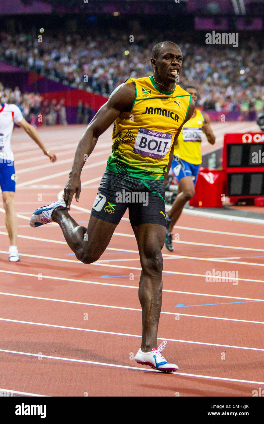 London 2012 Usain Bolt 200m