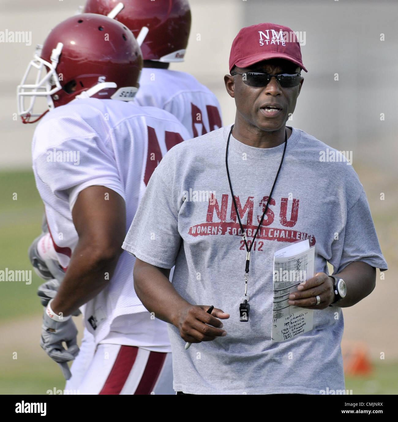Aug  16, 2012 - Las Cruces, NM, U S  - Greg Sorber -- NMSU