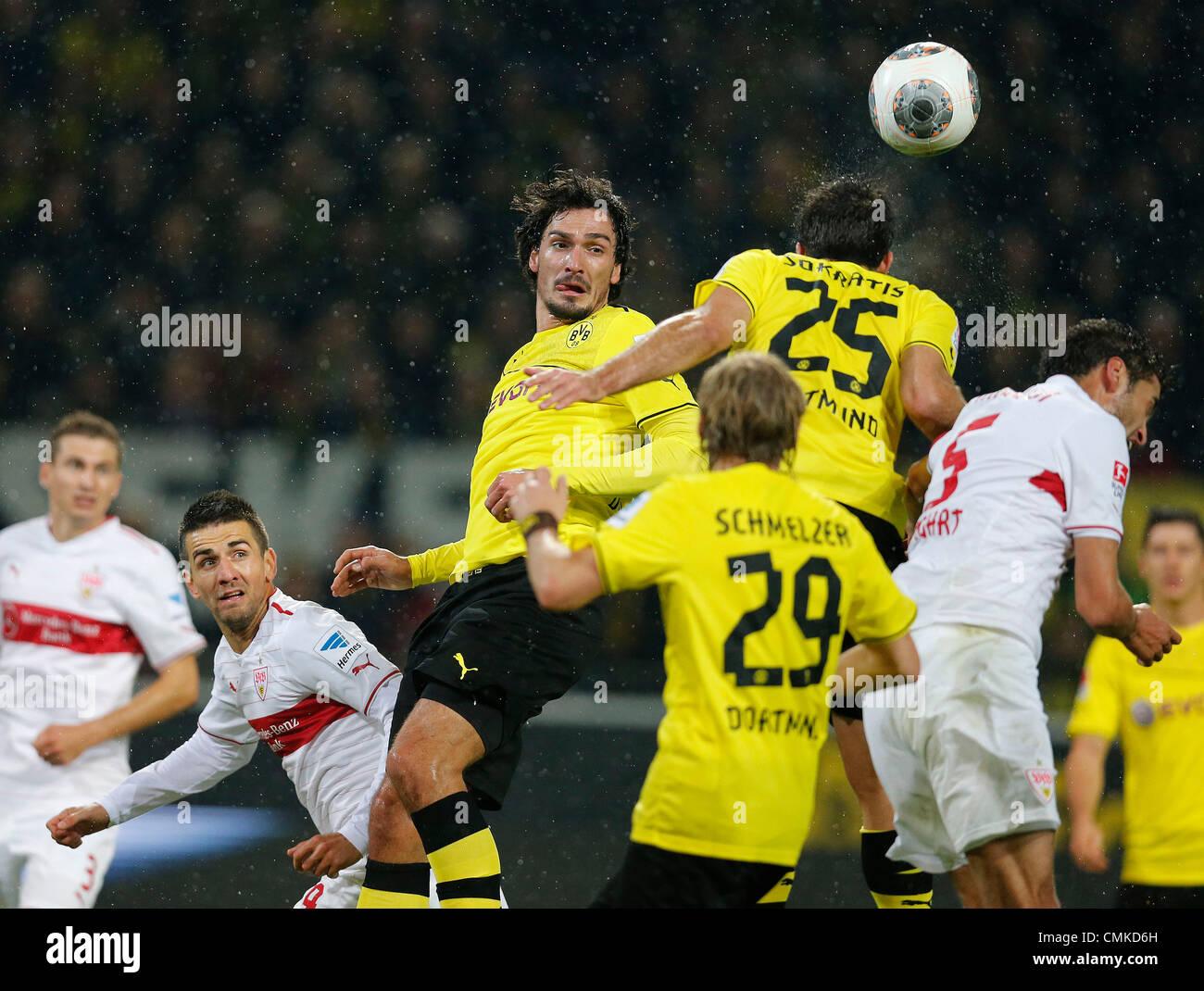 Fussball, Dortmund, Deutschland , 1. Bundesliga ,  11. Spieltag, Borussia Dortmund (BVB) - VFB Stuttgart (VFB)  - Stock Image