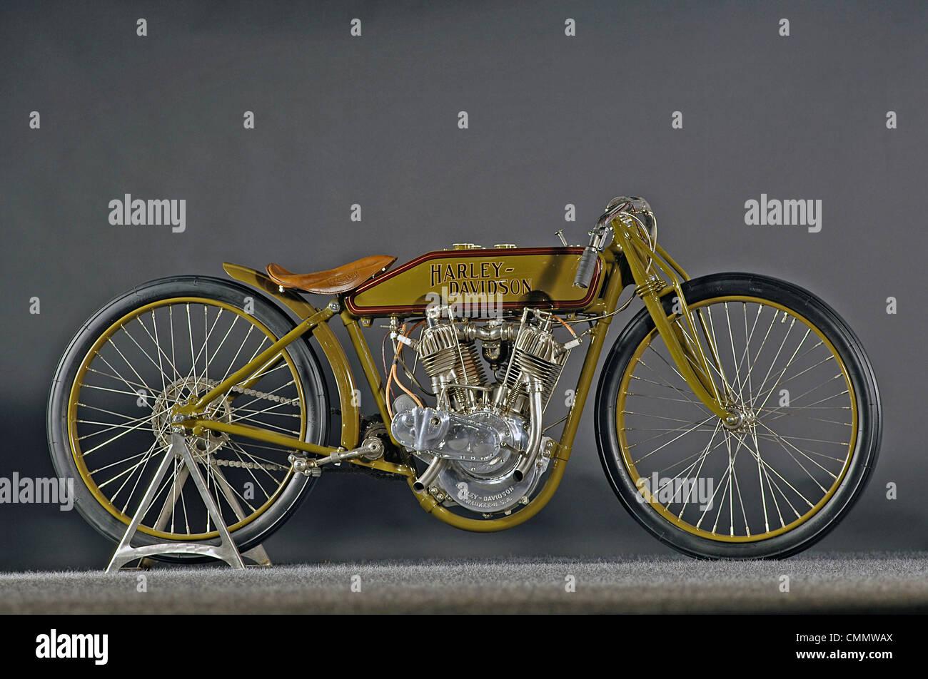 1921 Harley Davidson Boardtrack racer - Stock Image