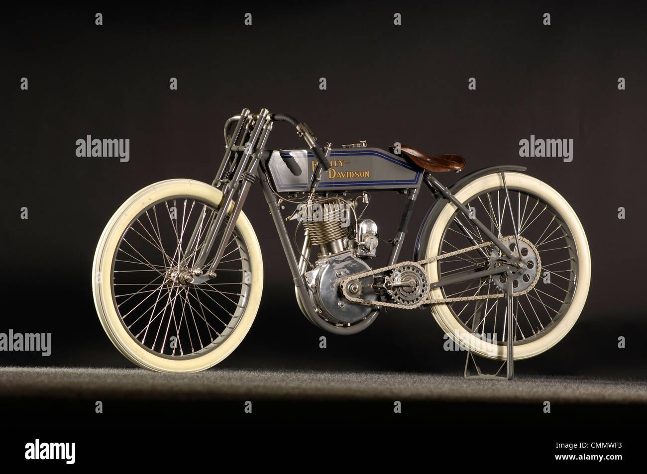 1913 Harley Davidson racer - Stock Image
