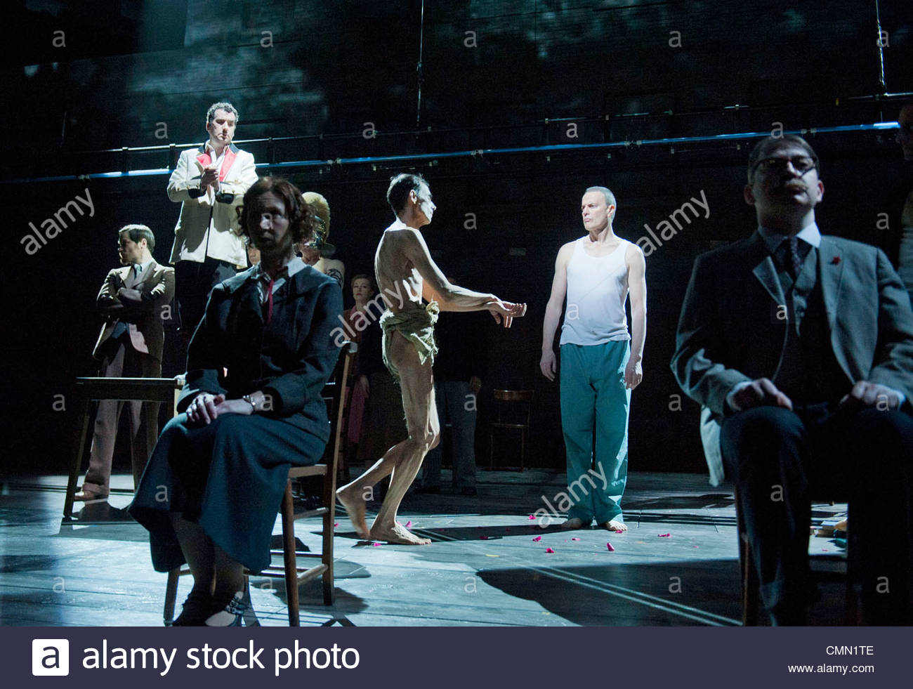 The Master and Margarita by Mikhail Bulgakov. A Complicite Production directed by Simon McBurney. - Stock Image
