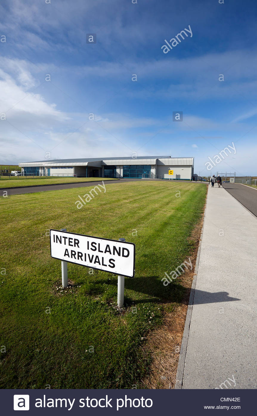 Kirkwall Airport, Orkney Islands, Scotland UK Stock Photo
