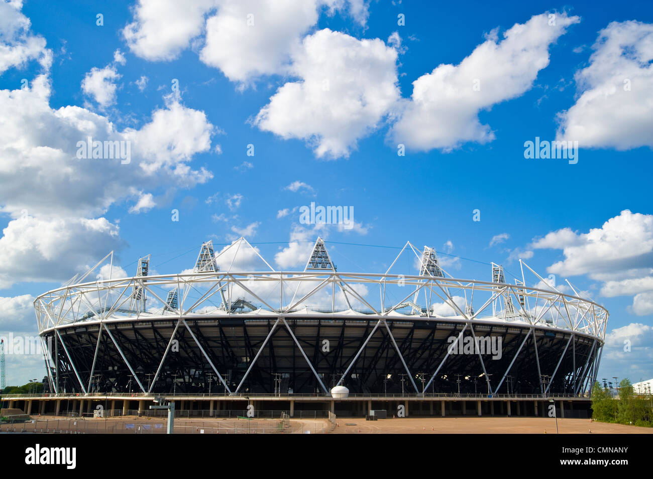 Olympic Stadium London, 2012, U.K. Stock Photo