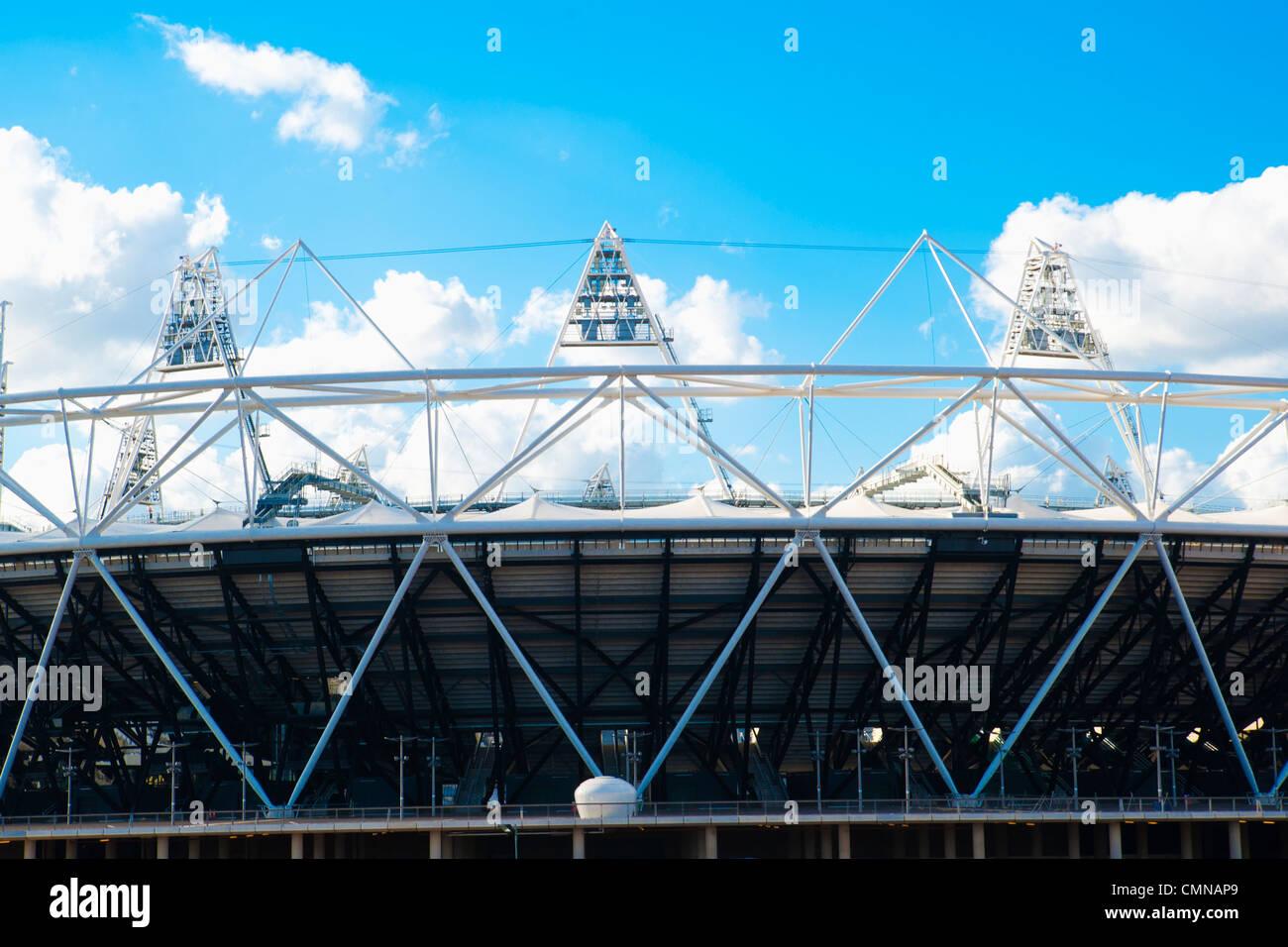 Olympic Stadium London, 2012, U.K. Stock Photo