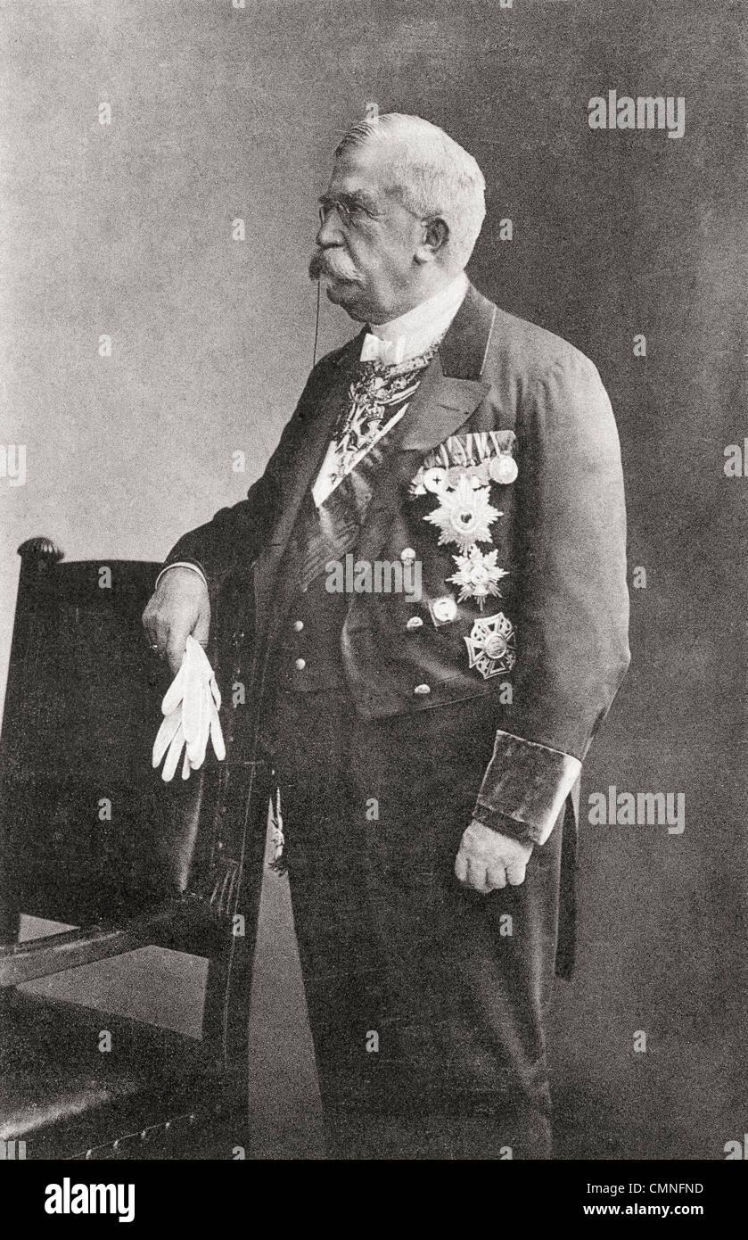 Karl Heinrich von Boetticher, 1833 – 1907. German conservative politician and statesman. - Stock Image