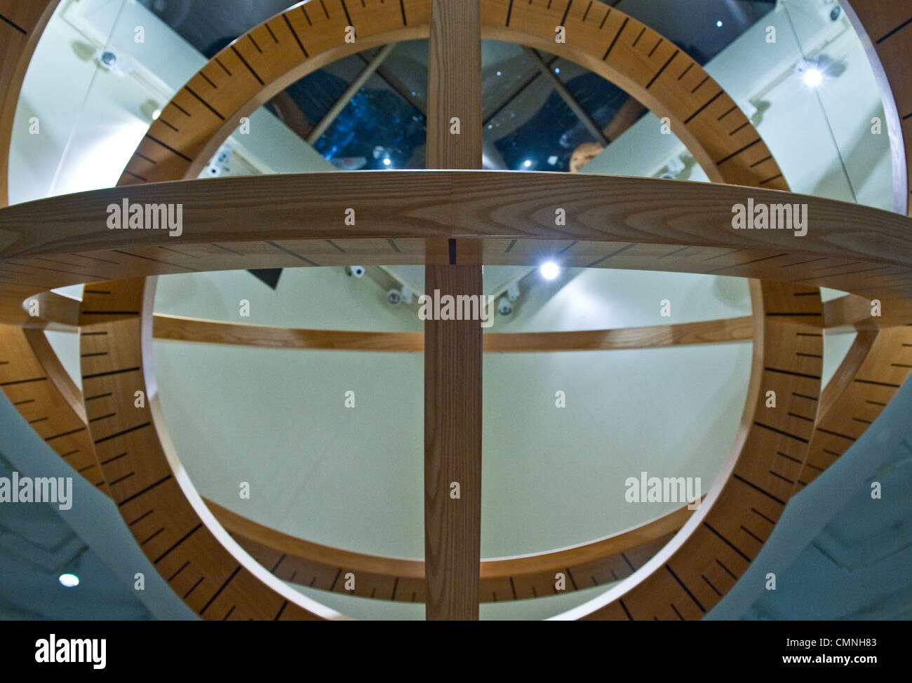 Asia Saudi Arabia Dammam, the reception center for the oil industry Aramco - Stock Image