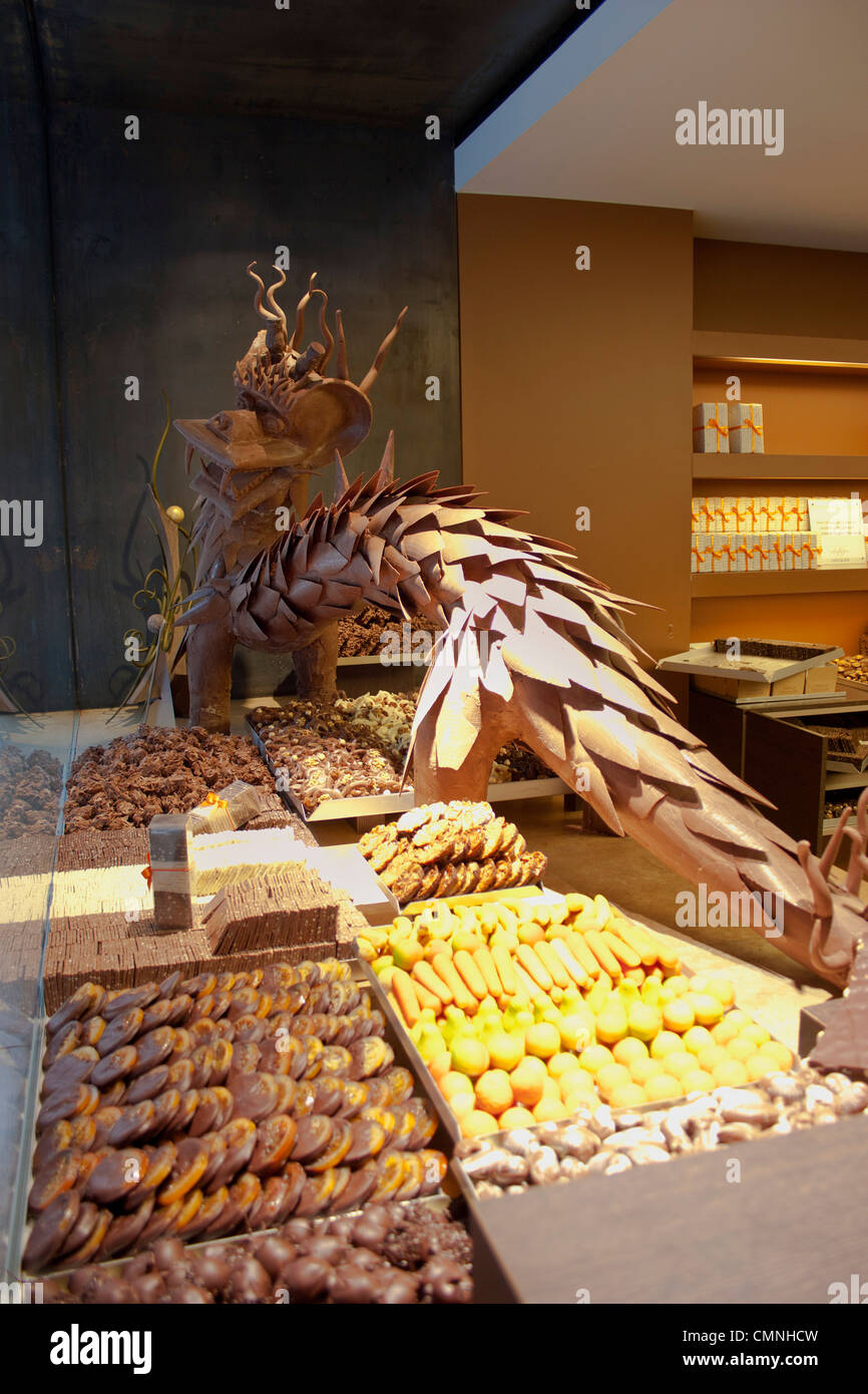 Chocolate Shop Display Stock Photos & Chocolate Shop Display Stock ...