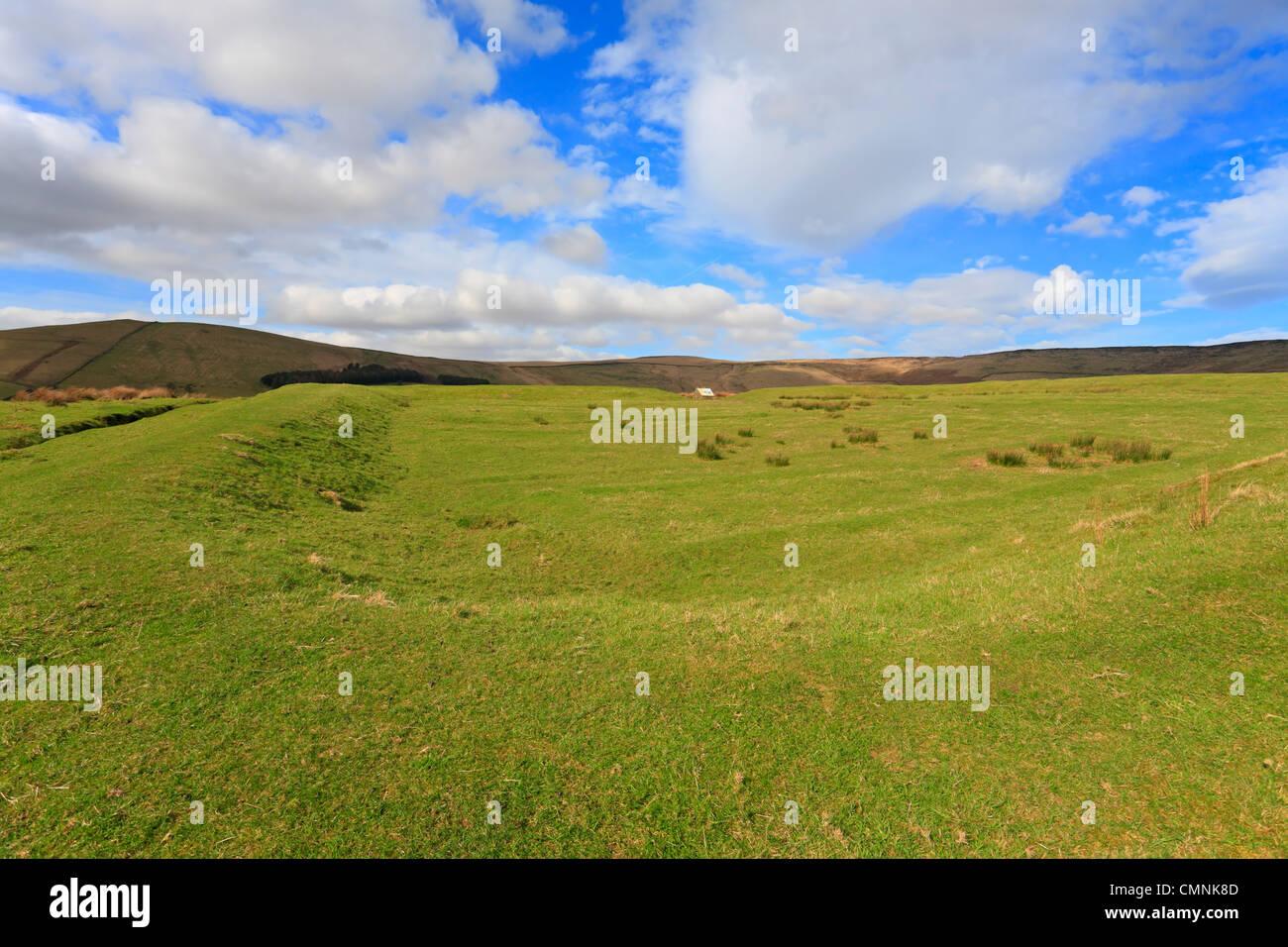 Castleshaw Roman Fort, Saddleworth, Oldham, Lancashire, England, UK. - Stock Image