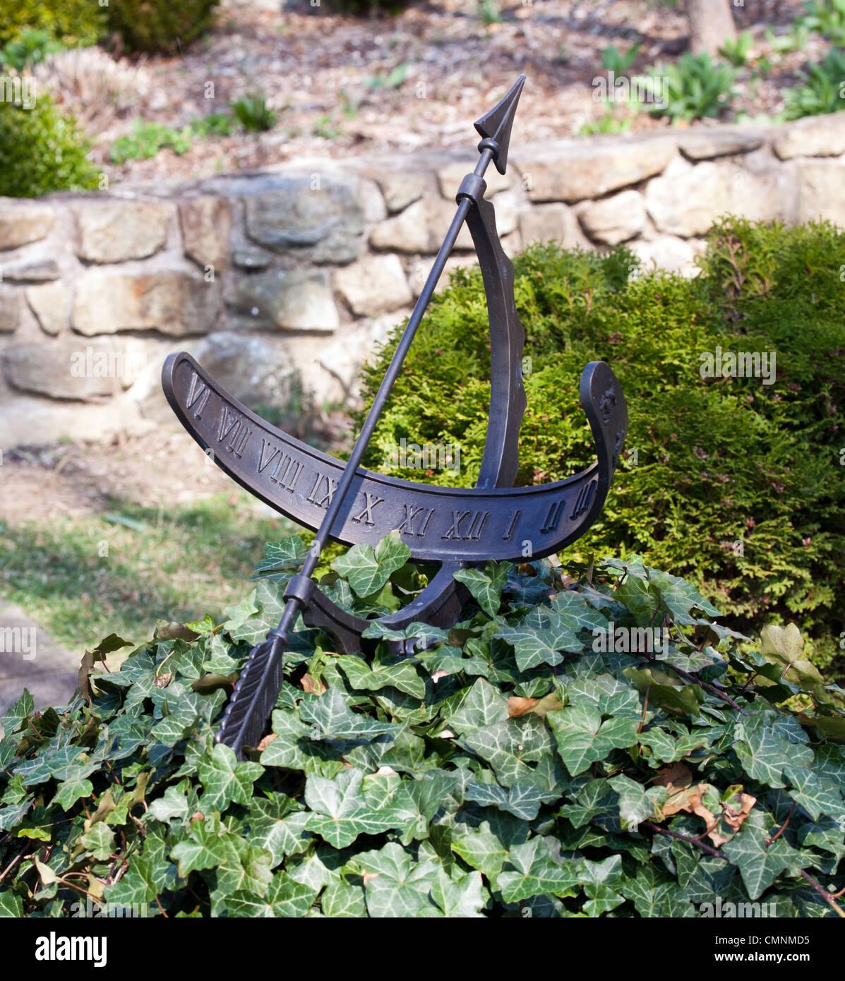 Garden Sundial.   Stock Image