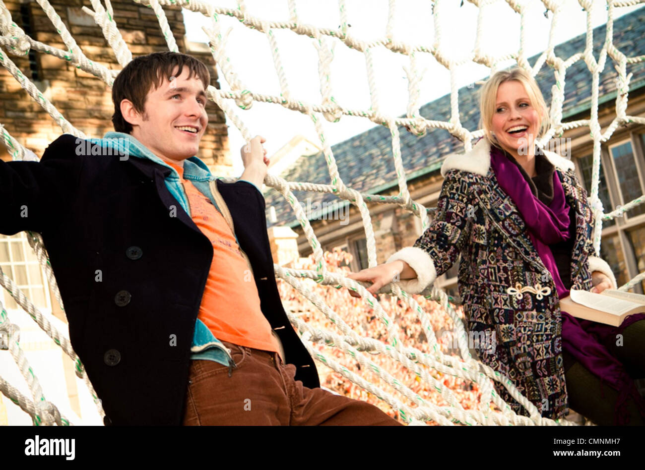 BLUE LIKE JAZZ 2012 Roadside Attractions film with Marshall Allman and Claire Holt - Stock Image