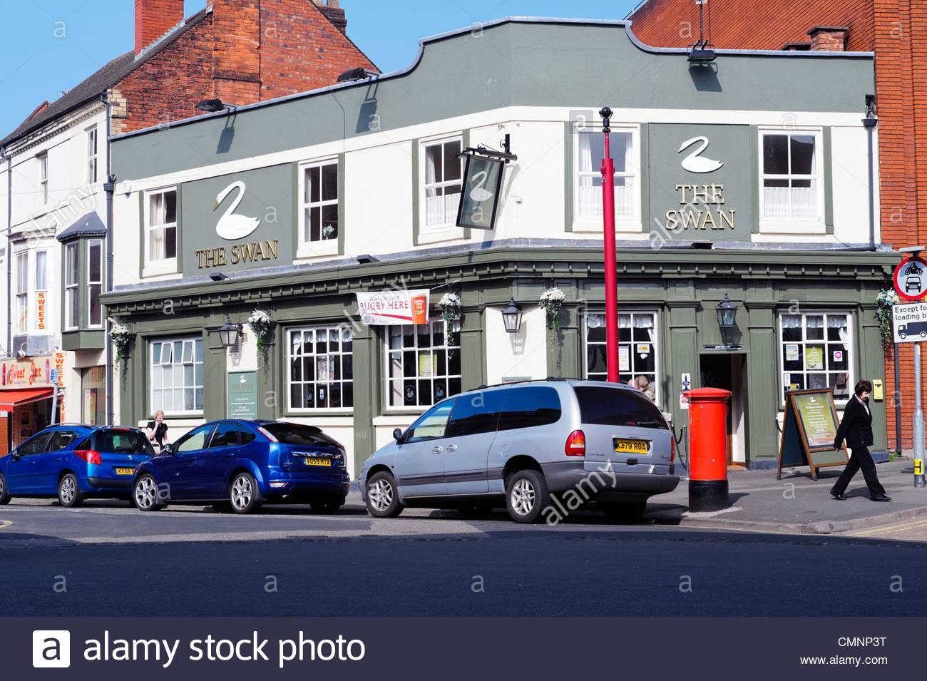 The Swan inn pub in Kidderminster, UK. - Stock Image