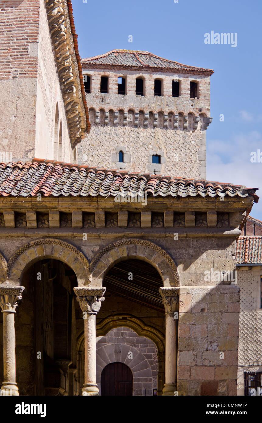 San Martin Church, Segovia - Stock Image