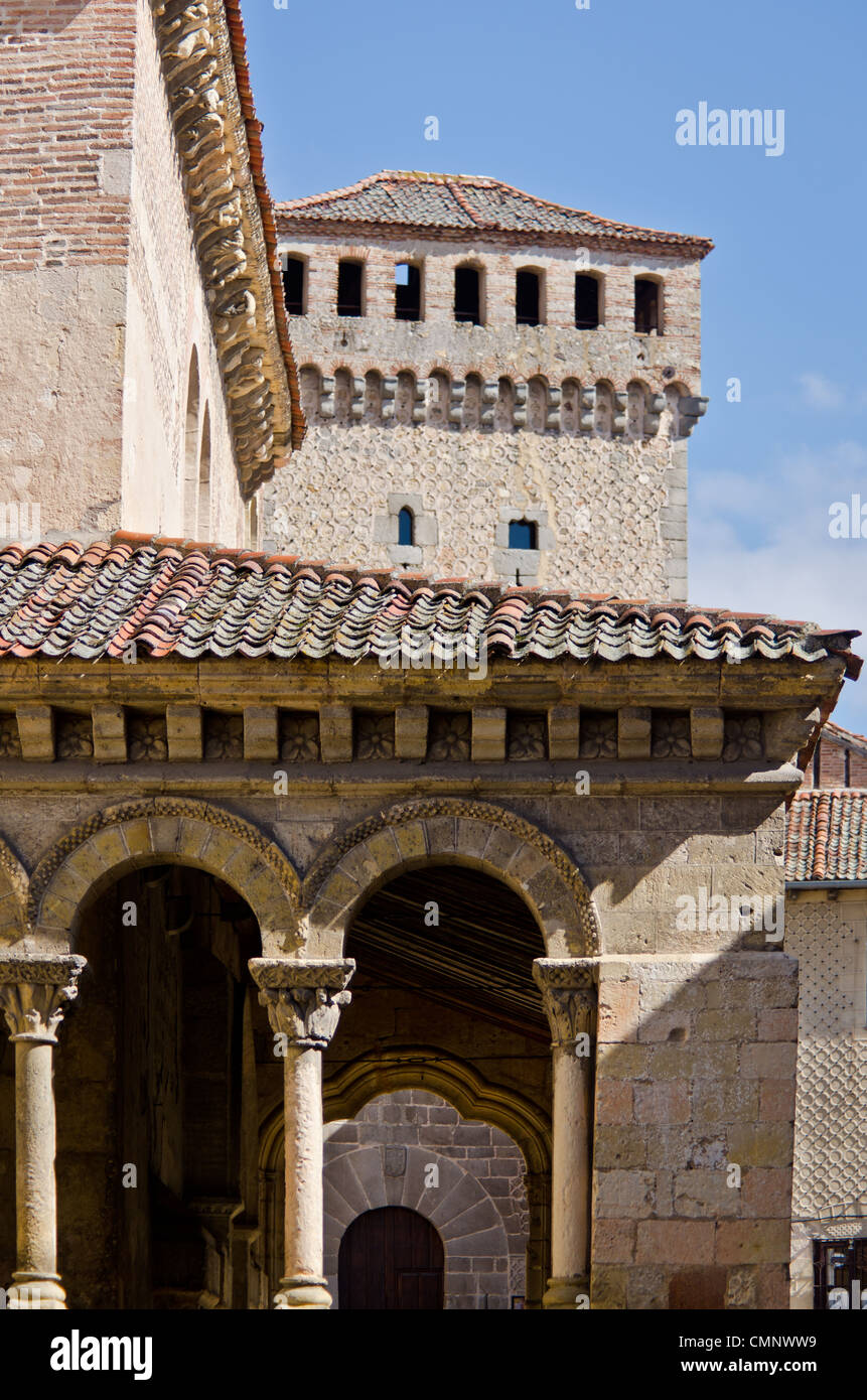 San Martin Church, Segovia, Spain - Stock Image
