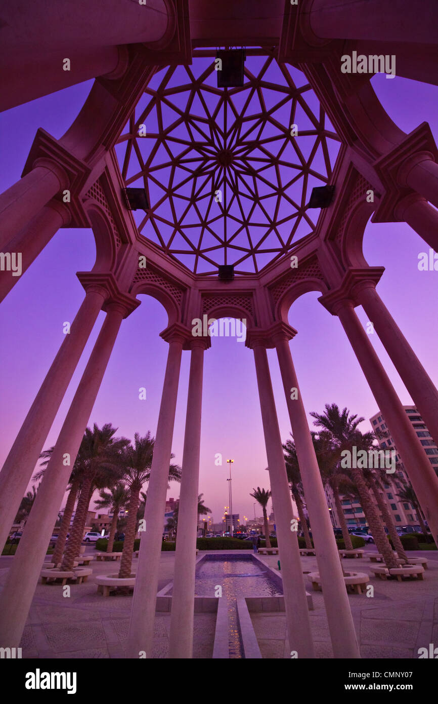 Kuwait architecture - Stock Image