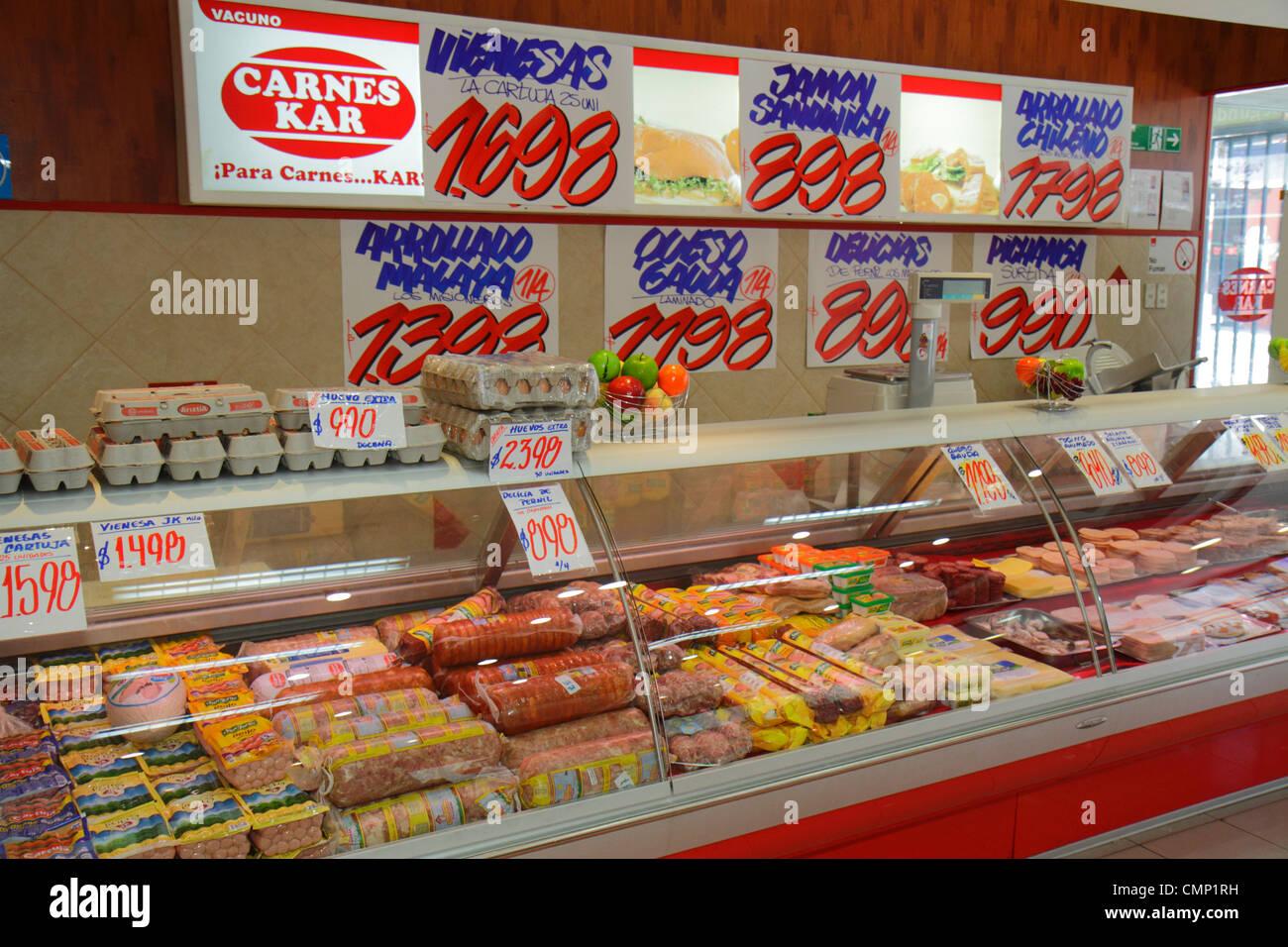 Chile Arica Paseo Peatonal 21 De Mayo Business Shopping Carnes Kar Deli Delicatessen Counter Cold Cuts Han Salads Cheese Prepare