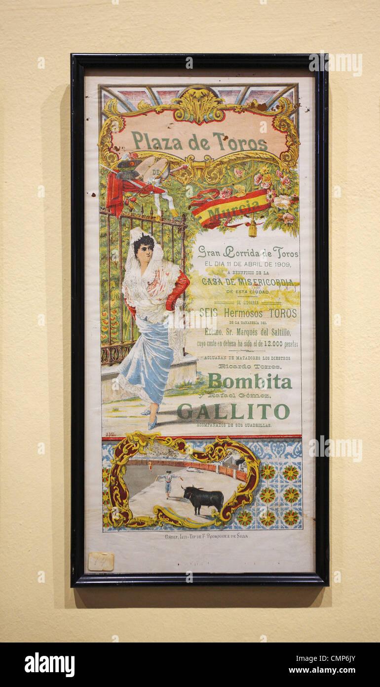 Bullfighting Poster Stock Photos & Bullfighting Poster Stock Images ...