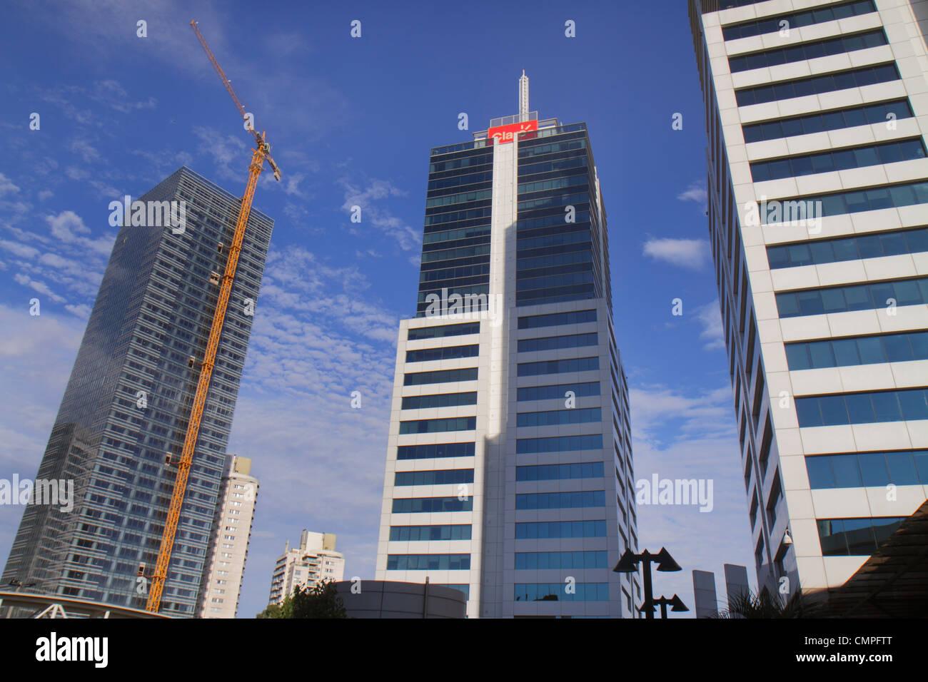 Uruguay Montevideo Avenida Dr. Luis Alberto de Herrera Montevideo World Trade Center centre construction economic - Stock Image