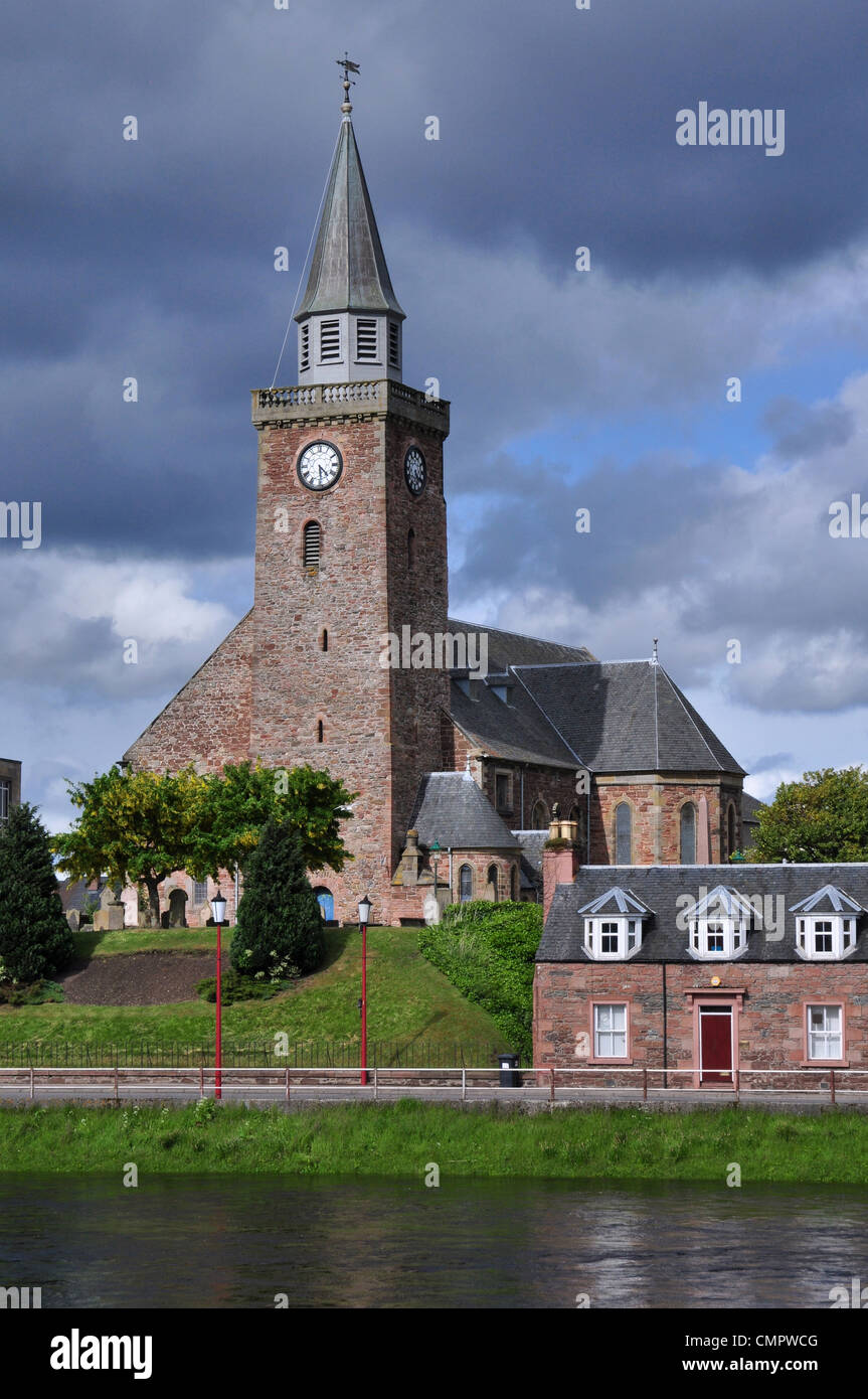 The Old High Church, Inverness, Scotland. - Stock Image