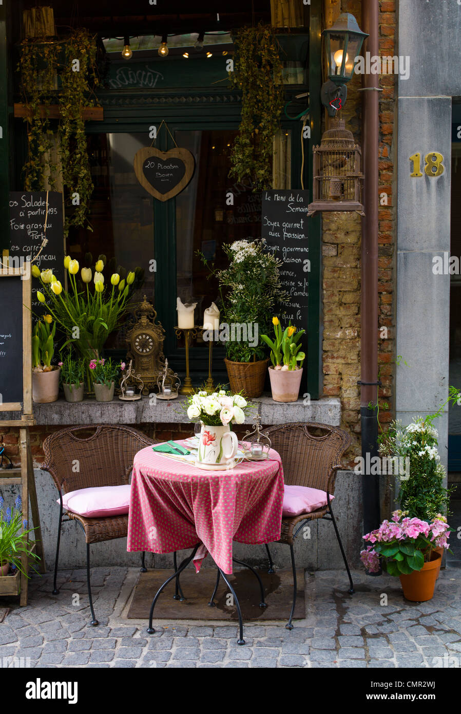 Outdoor Table And Chairs Europe Stock Photos Amp Outdoor