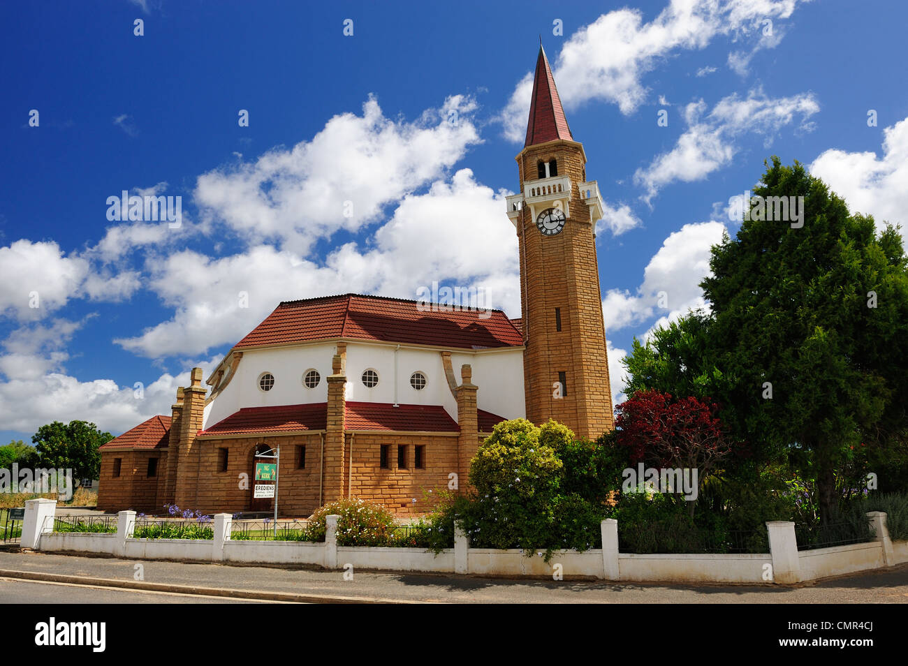 Church in Stanford, Western Cape, South Africa - Stock Image