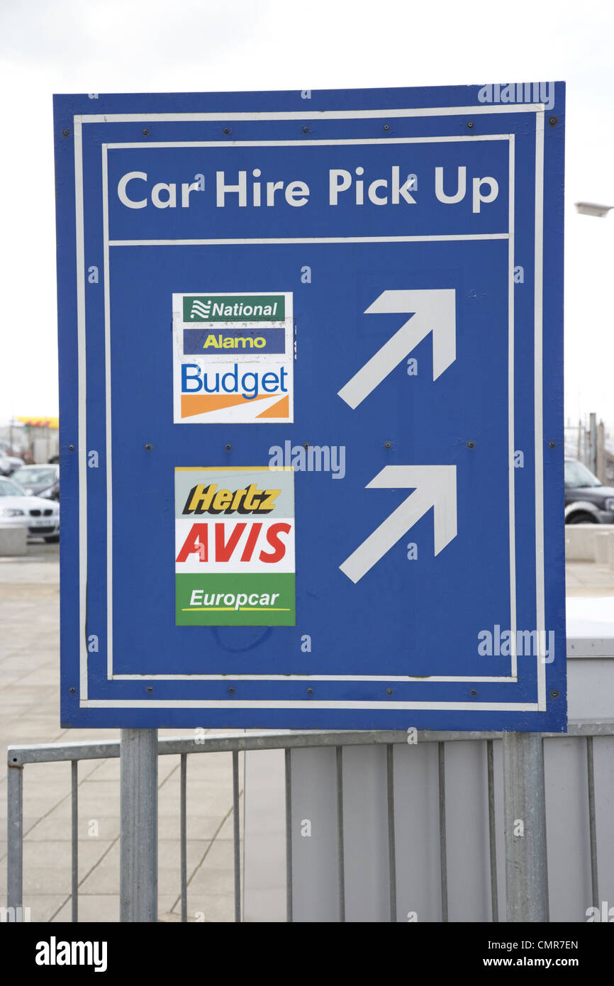 Avis Rent Car Belfast International Airport