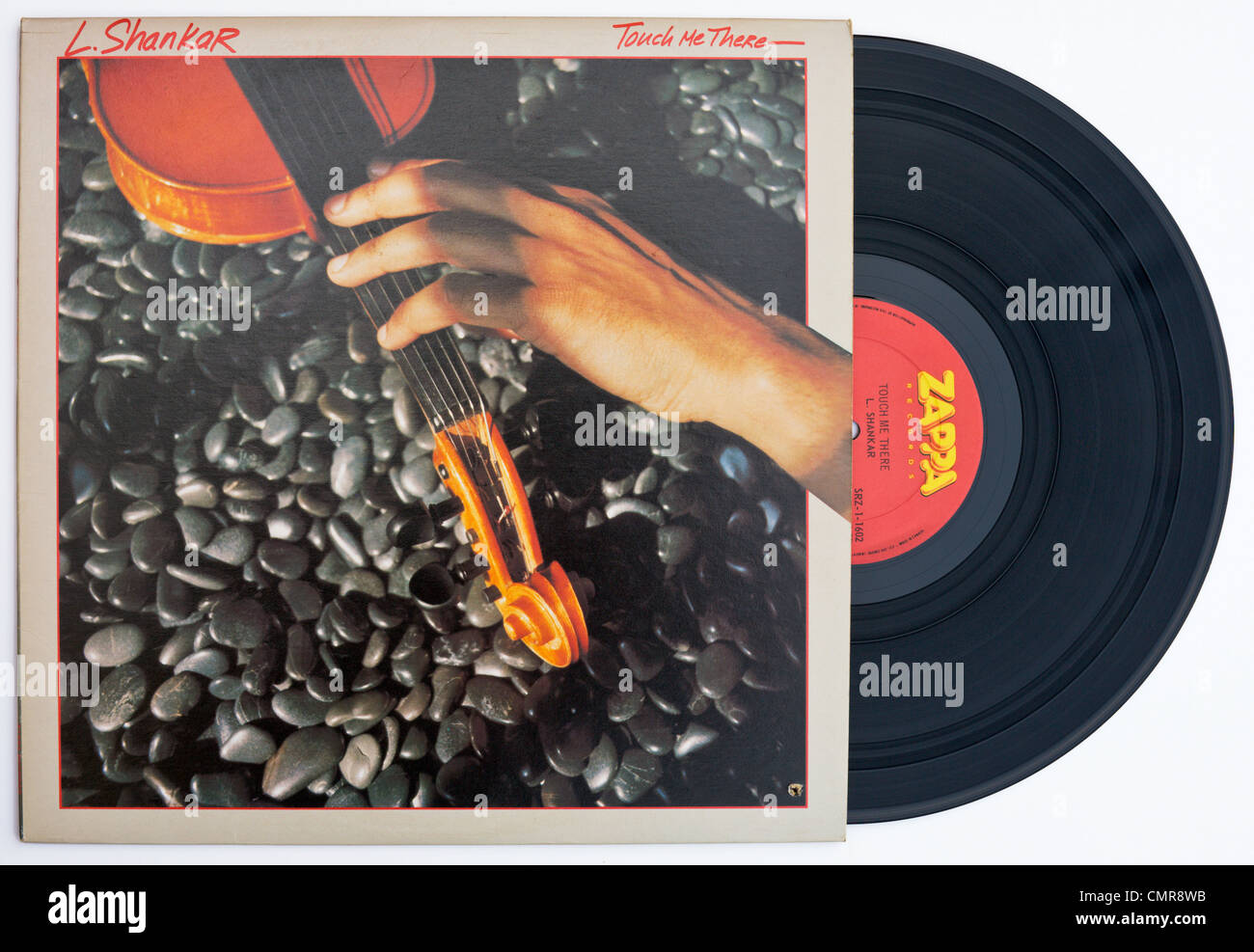 L  SHANKAR Touch Me There vinyl album cover released 1979 on ZAPPA