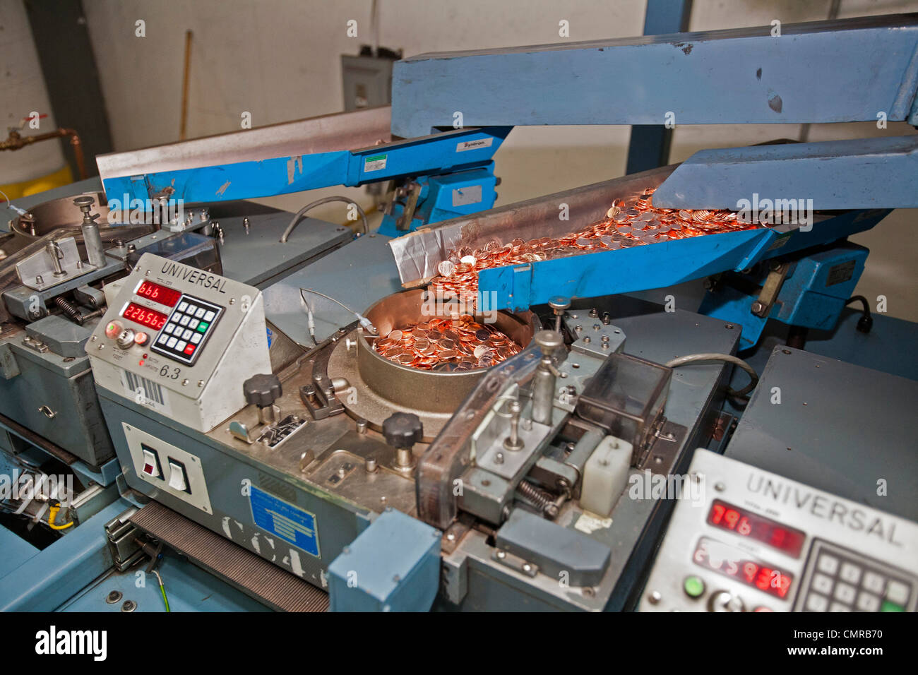 Coin Production Stock Photos & Coin Production Stock Images - Alamy