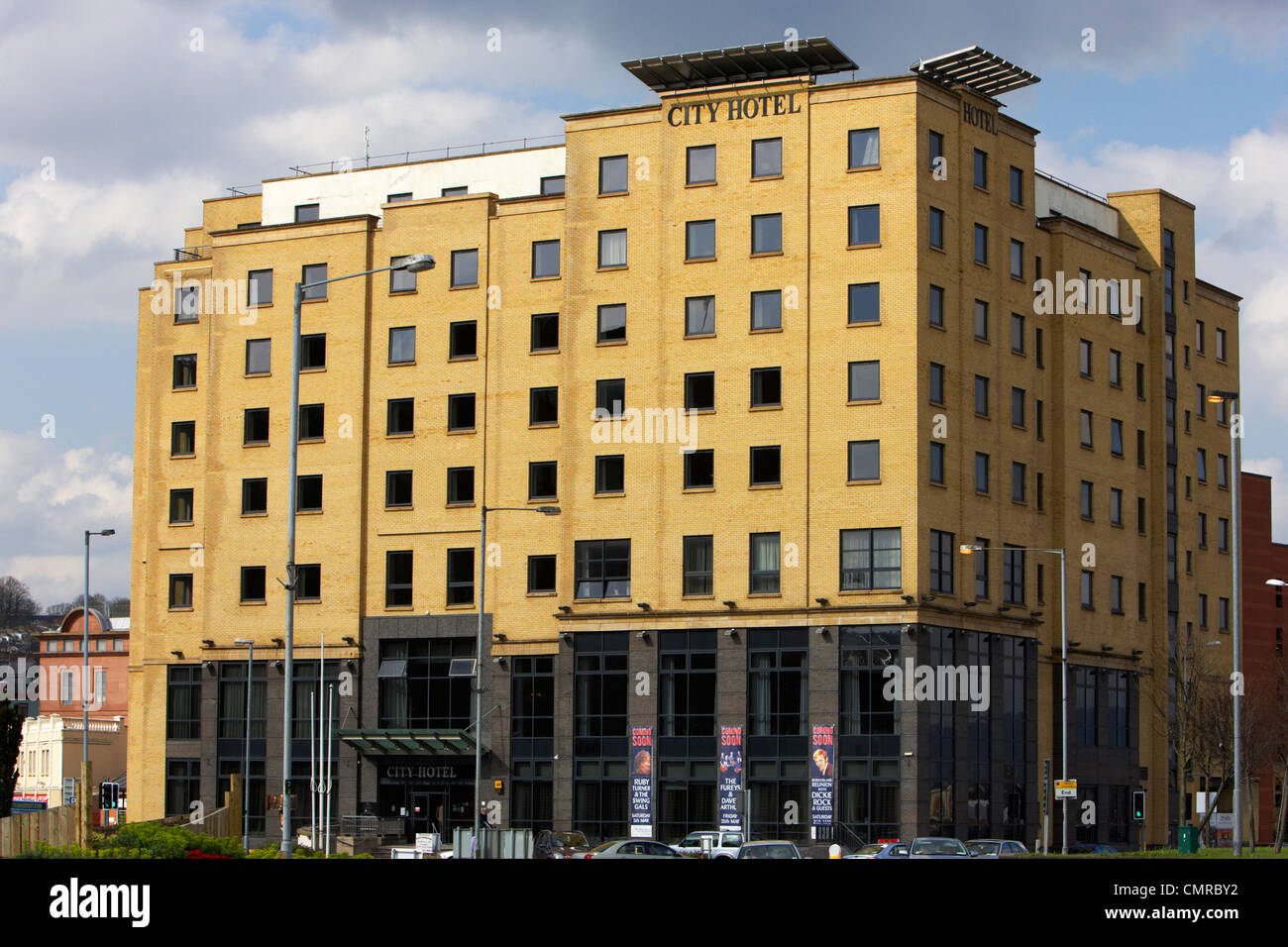 the city hotel Derry city county londonderry northern ireland uk. - Stock Image