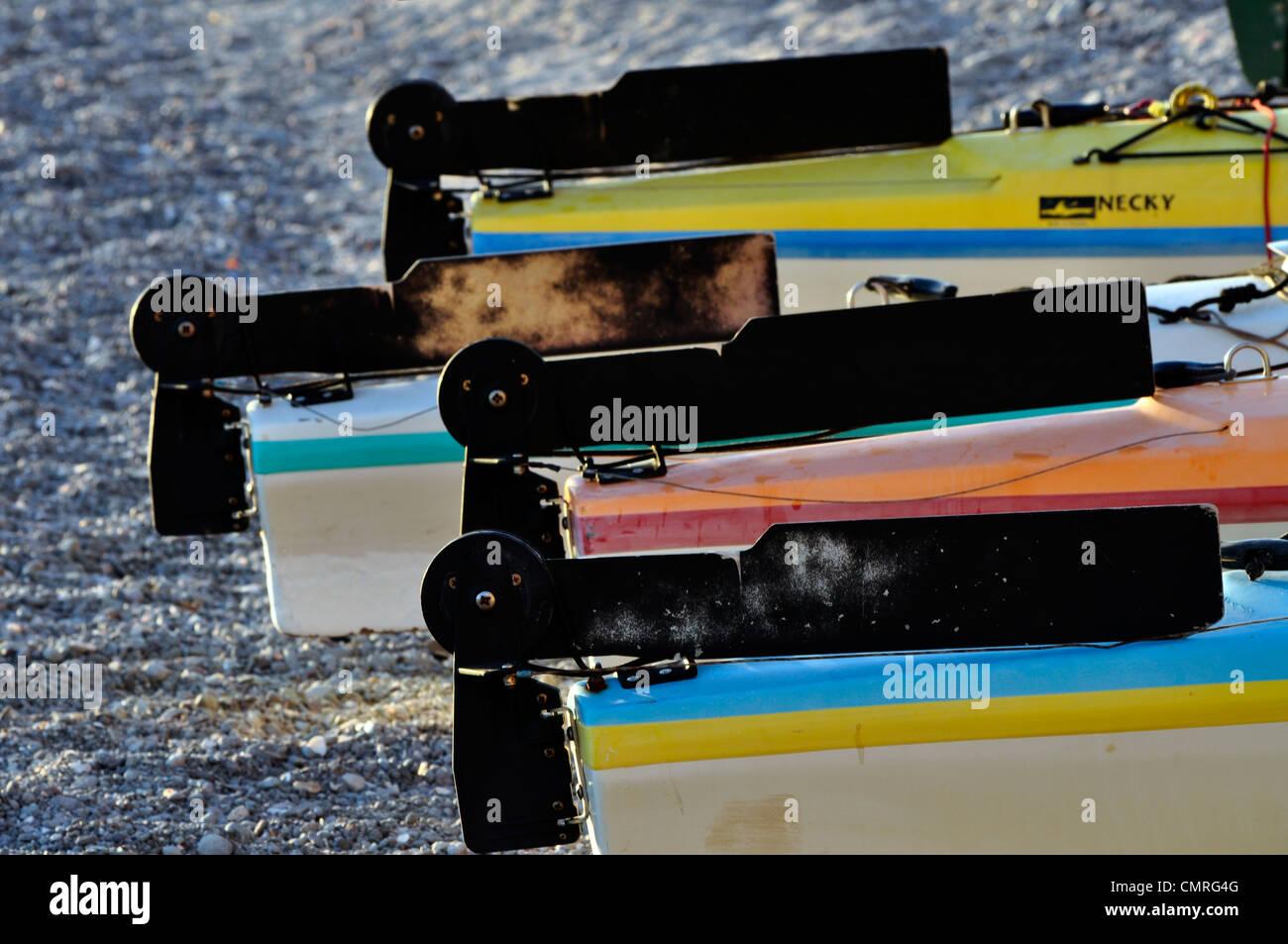 Kayak Rudder Stock Photos & Kayak Rudder Stock Images - Alamy