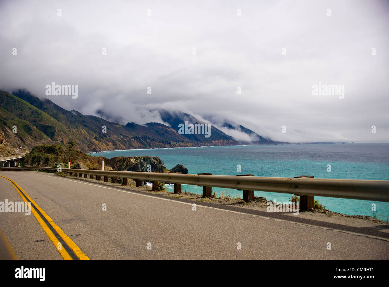 big sur; HWY one PCH  North California - Stock Image
