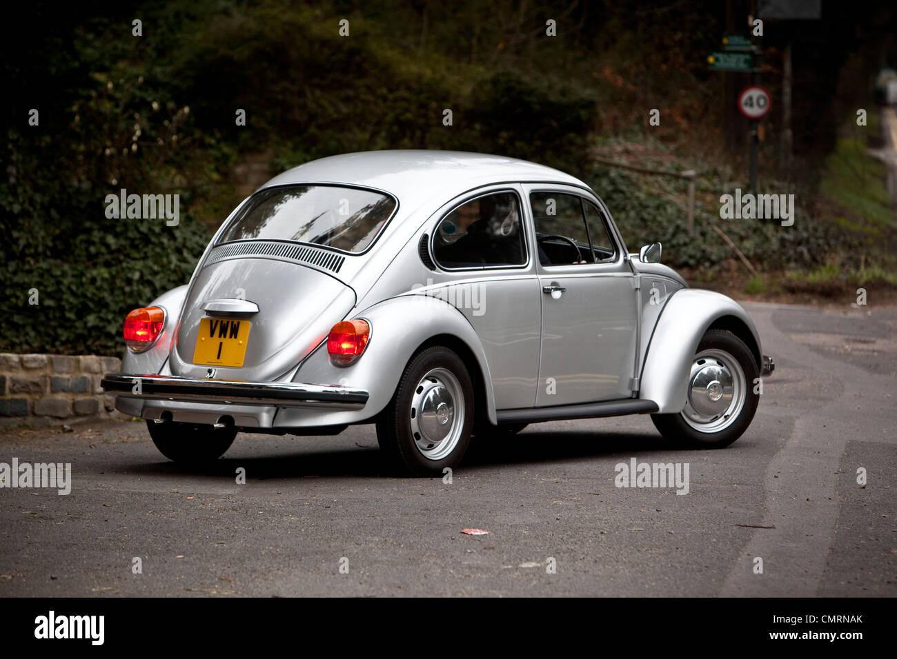Volkswagen Beetle type 1 Rear - Stock Image