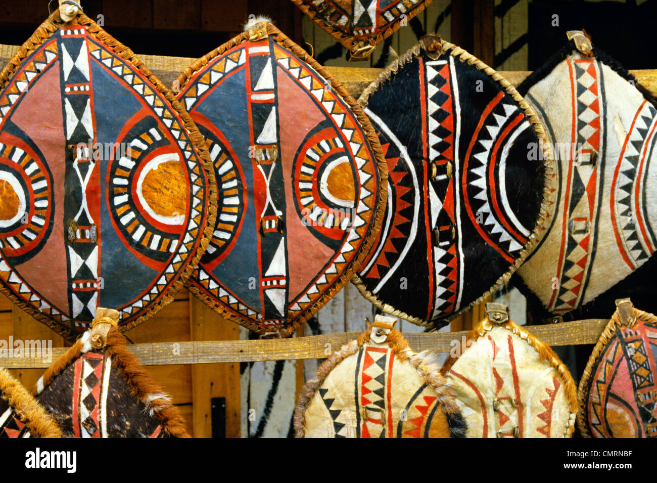 Masai Shield Stock Photos & Masai Shield Stock Images - Alamy