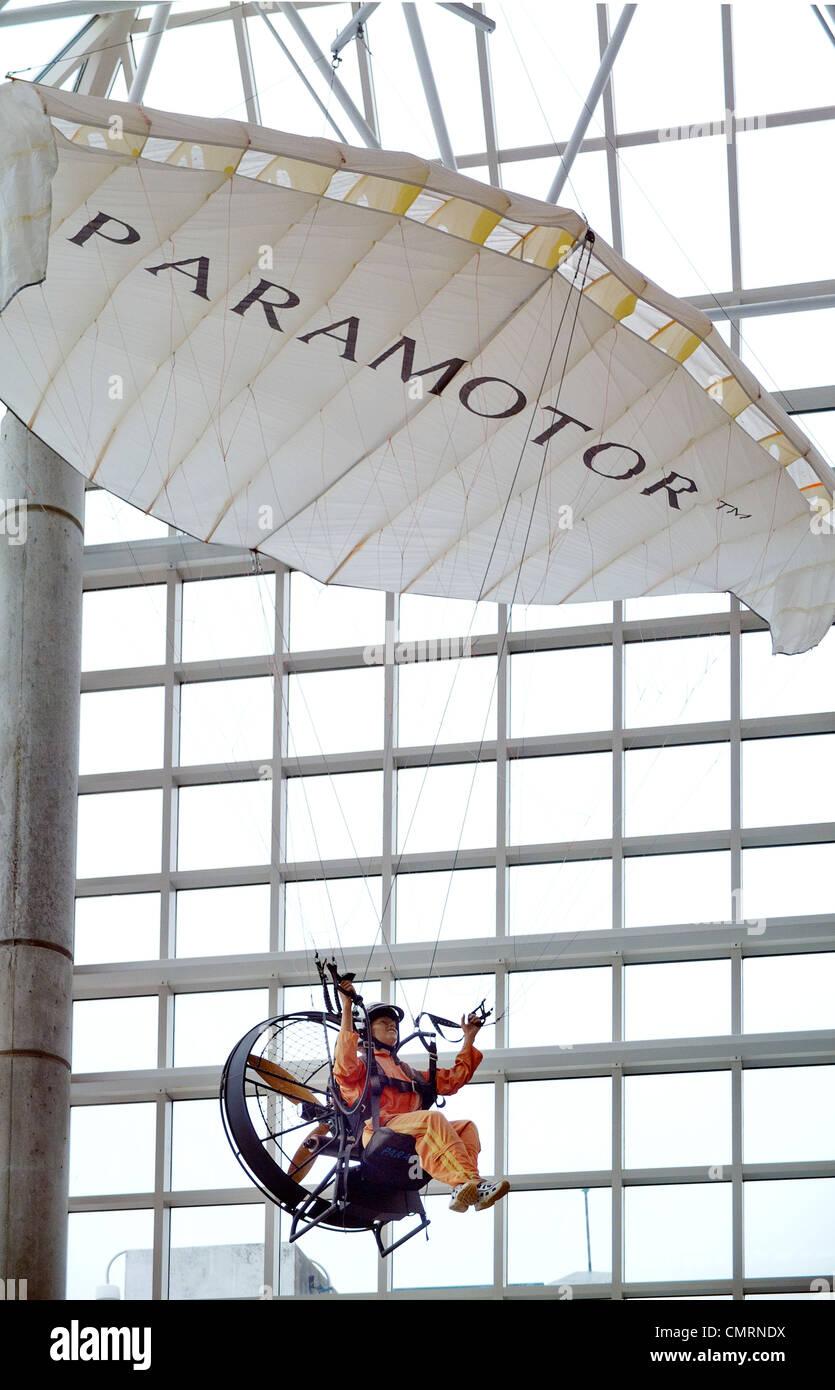 Cradle of Aviation Museum - Stock Image