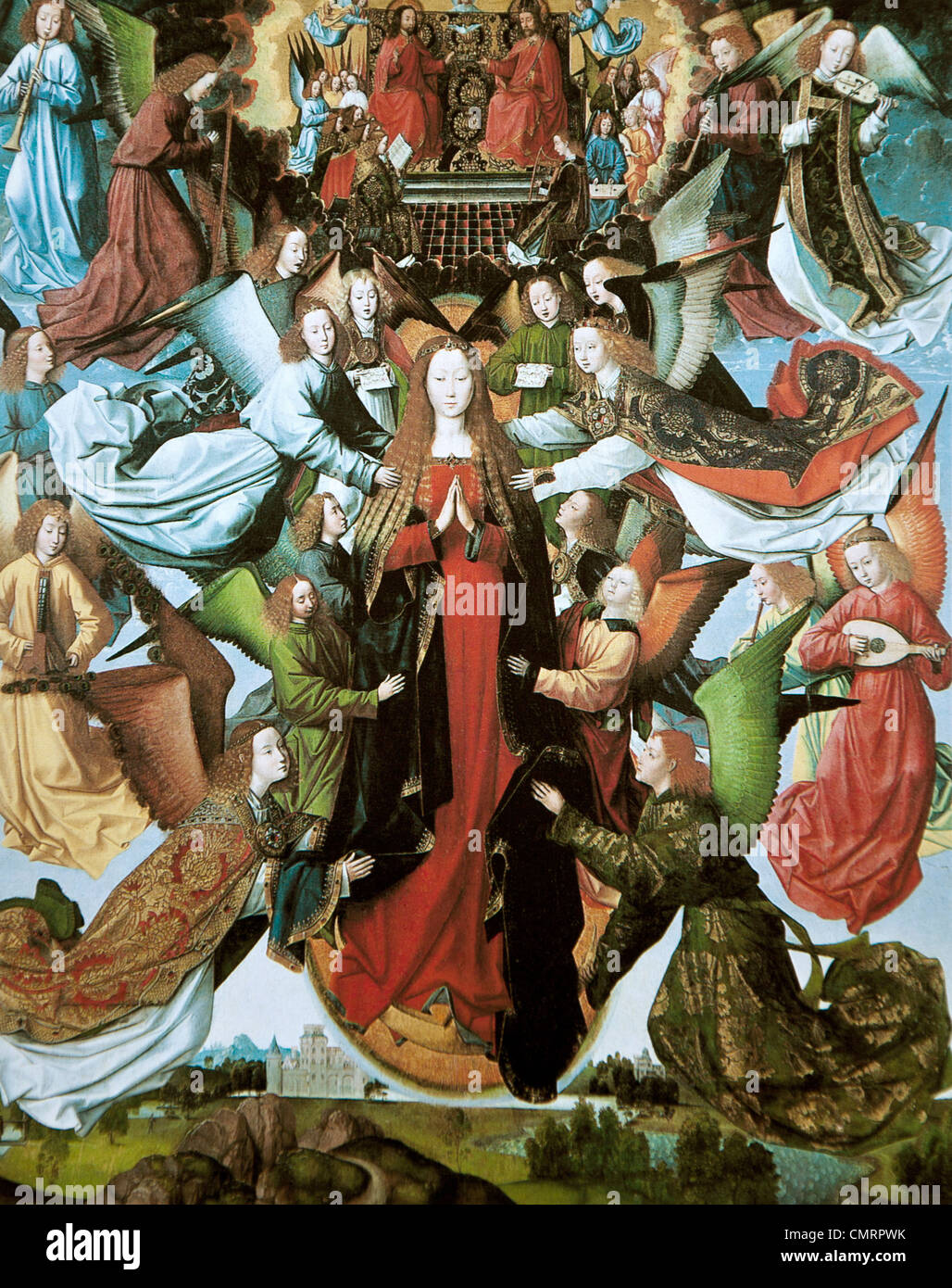 Mary, Queen of Heaven, Master of the St. Lucy Legend - Stock Image