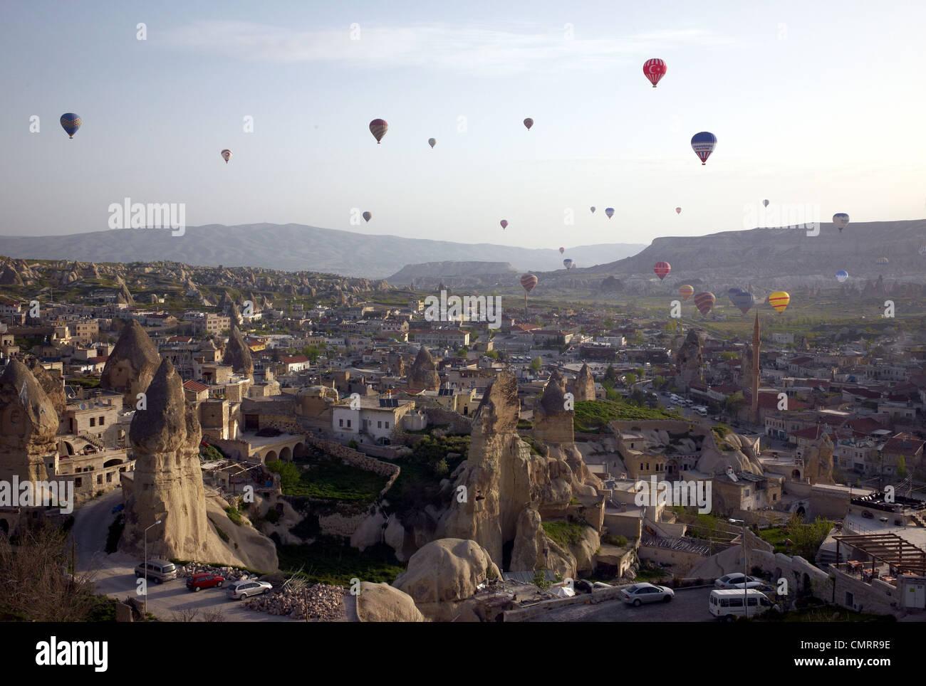 Floating Hot Air Balloons Cappadocia Turkey