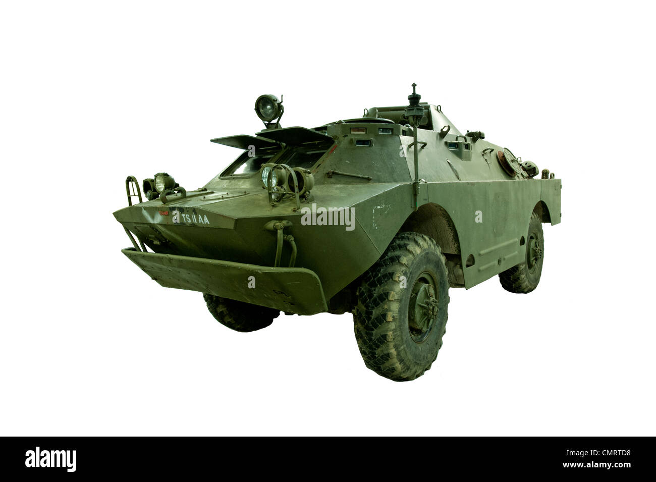 A cut out of Russian, Soviet BRDM-2 Scout Car - Stock Image