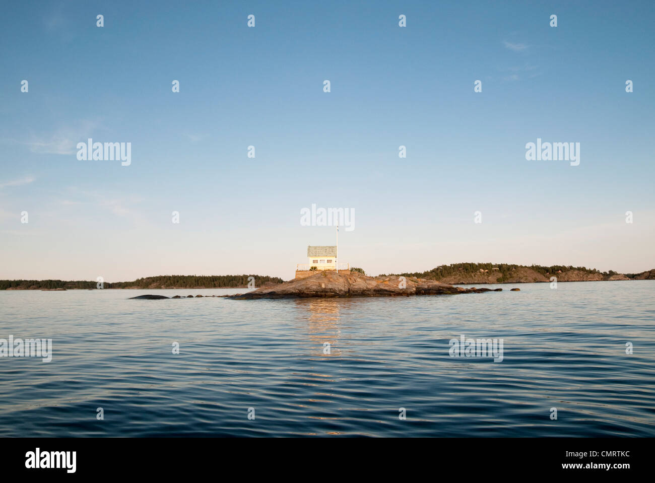 View over the archipelago - Stock Image