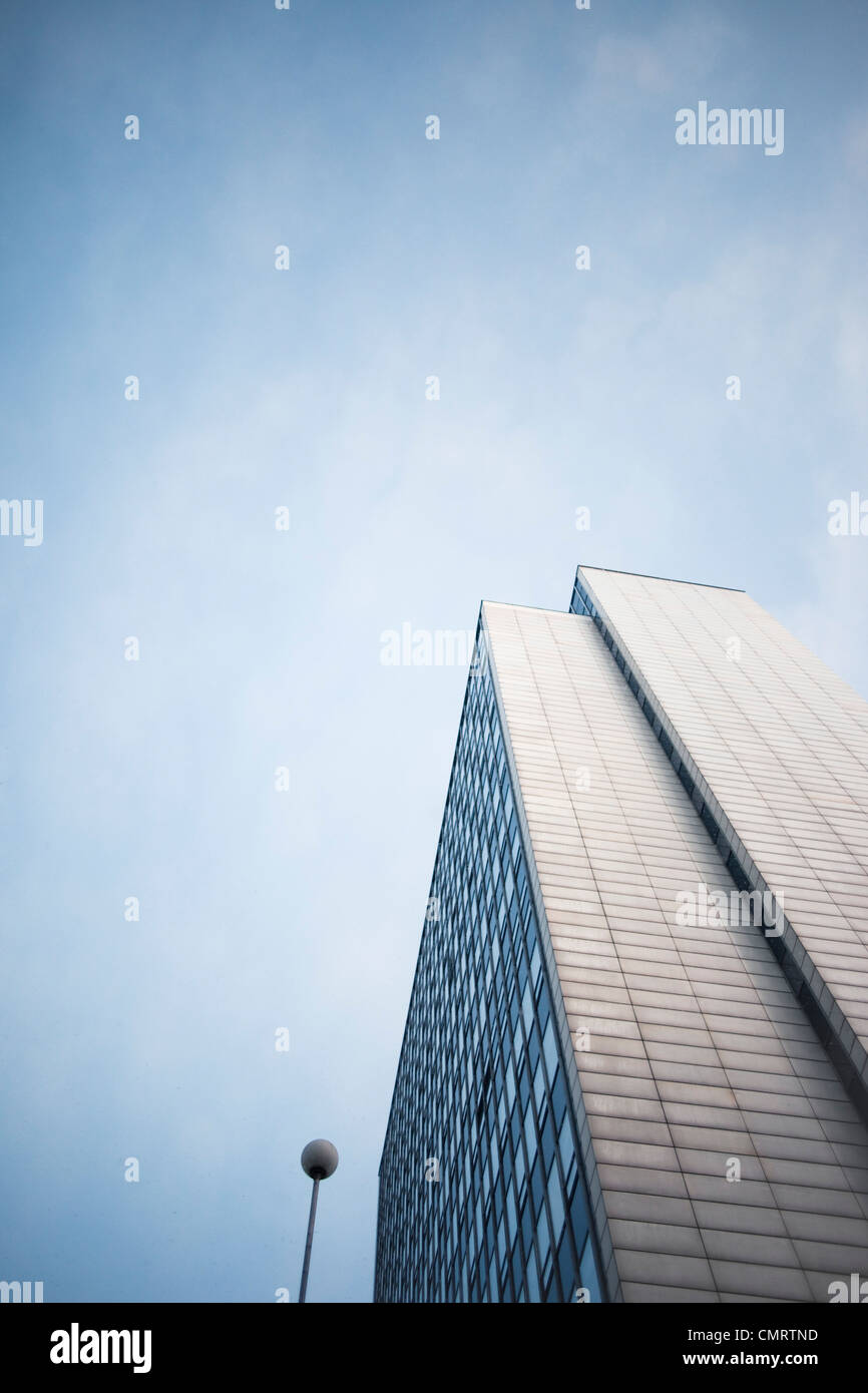 Tower house from below - Stock Image