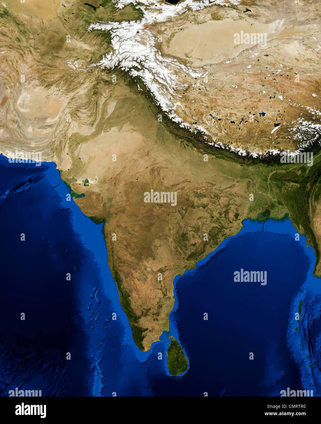 True color terramodis satellite image of india rendered in lambert true color terramodis satellite image of india rendered in lambert azimuthal equal area projection gumiabroncs Choice Image