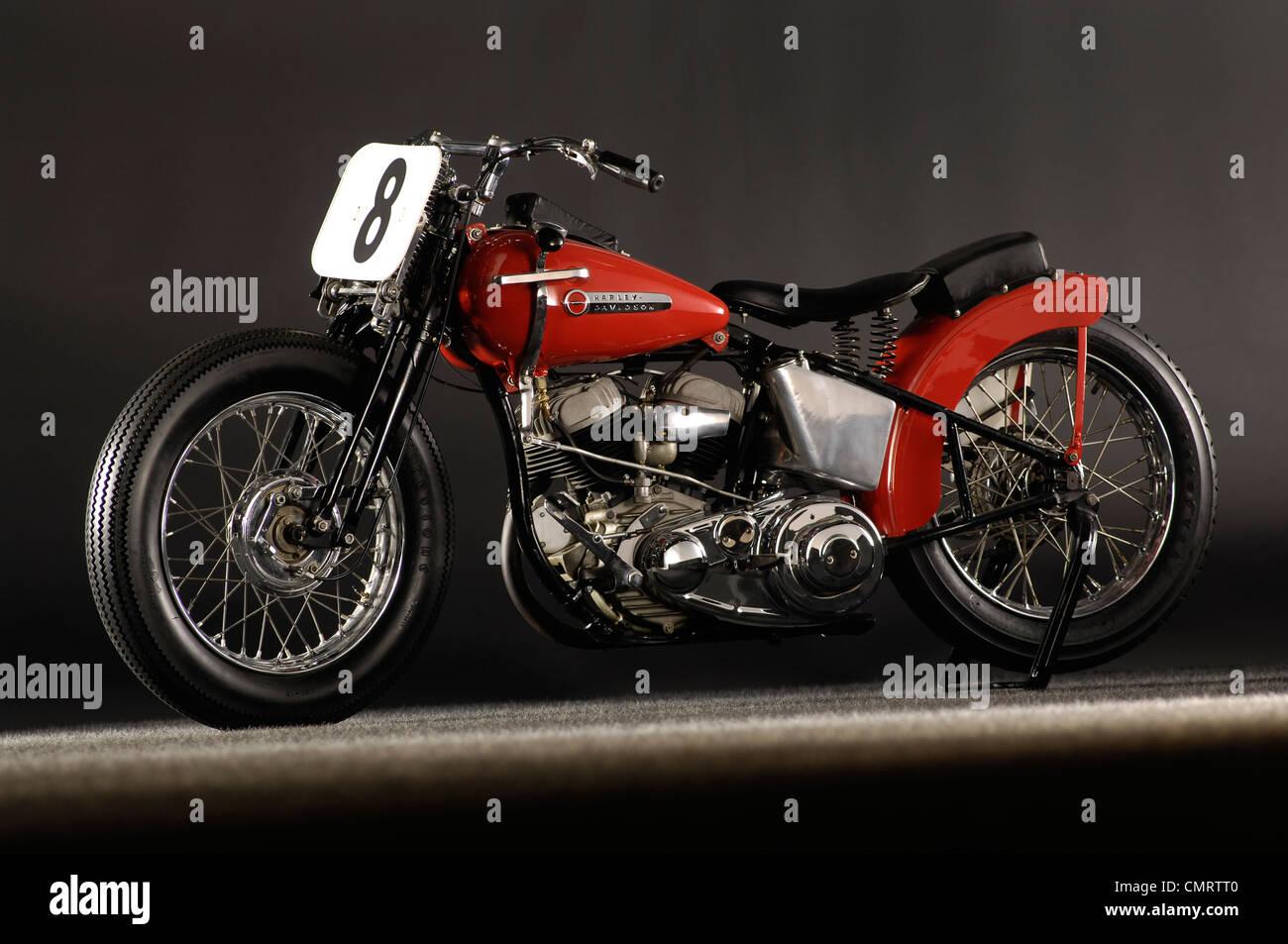 1948 Harley Davidson WR Daytona - Stock Image