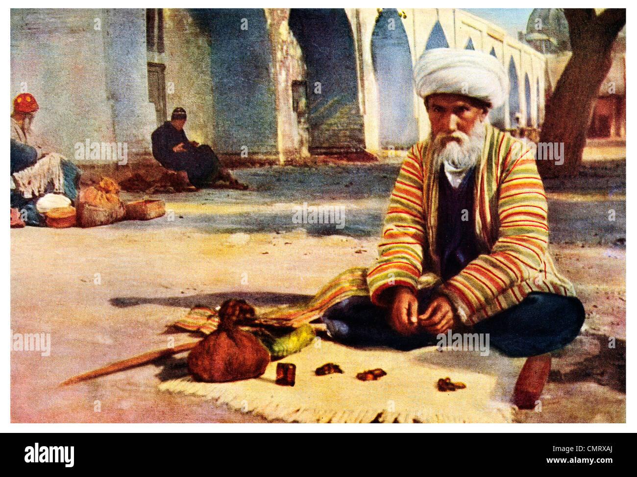 1919 Blind fortune teller of Kokand - Stock Image