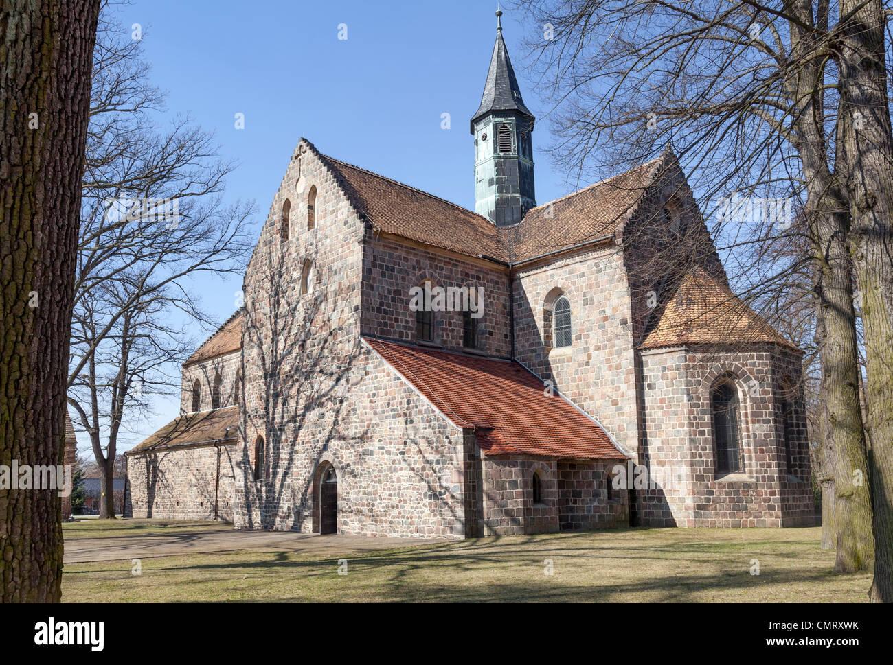 Klosterkirche, Kloster Zinna, Jüterbog, Brandenburg, Germany - Stock Image