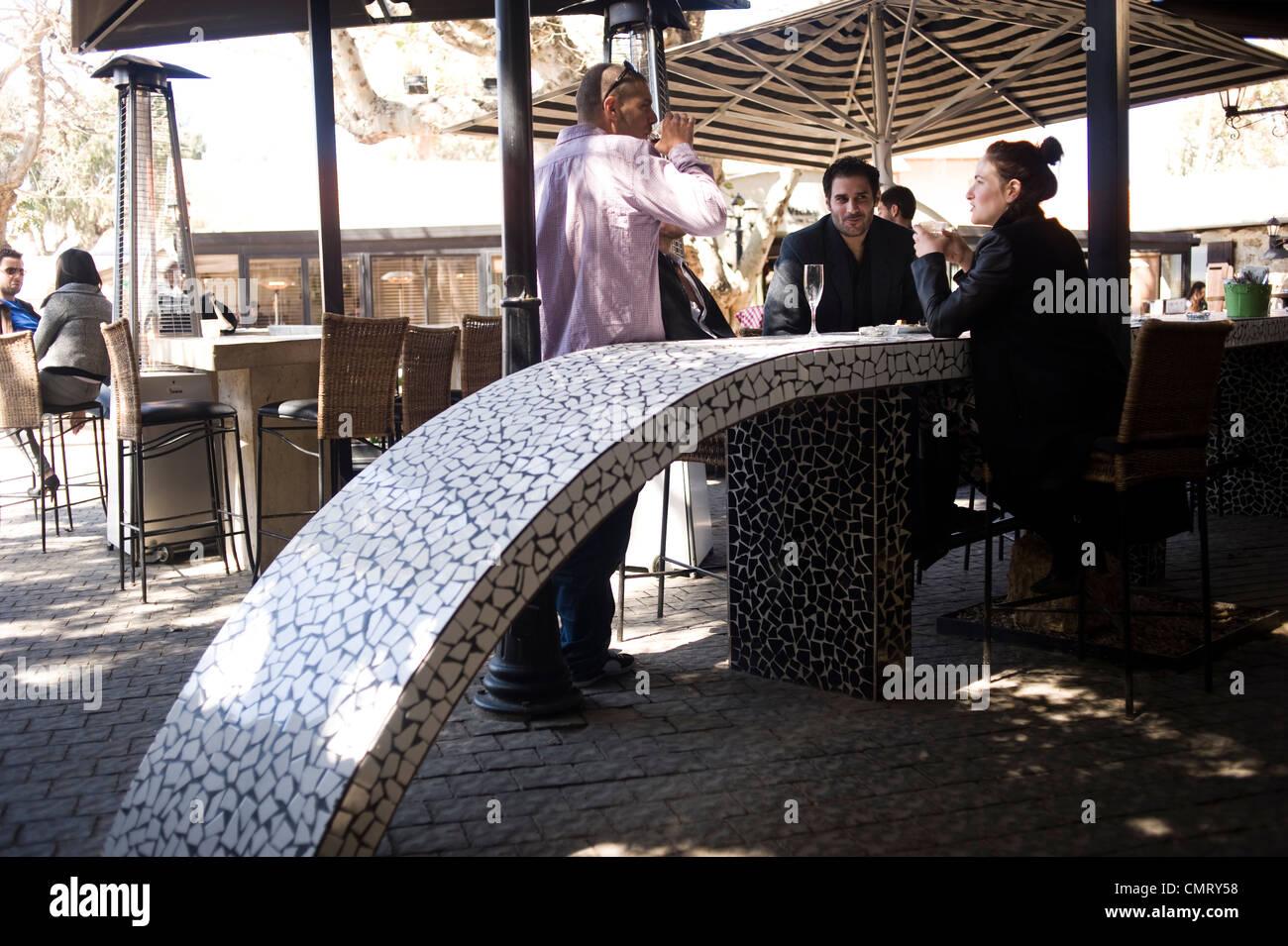 Bar Vicky Cristina, Tel Aviv, Israel. - Stock Image