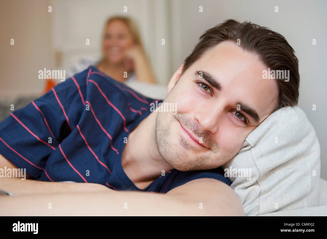 Man relaxing - Stock Image