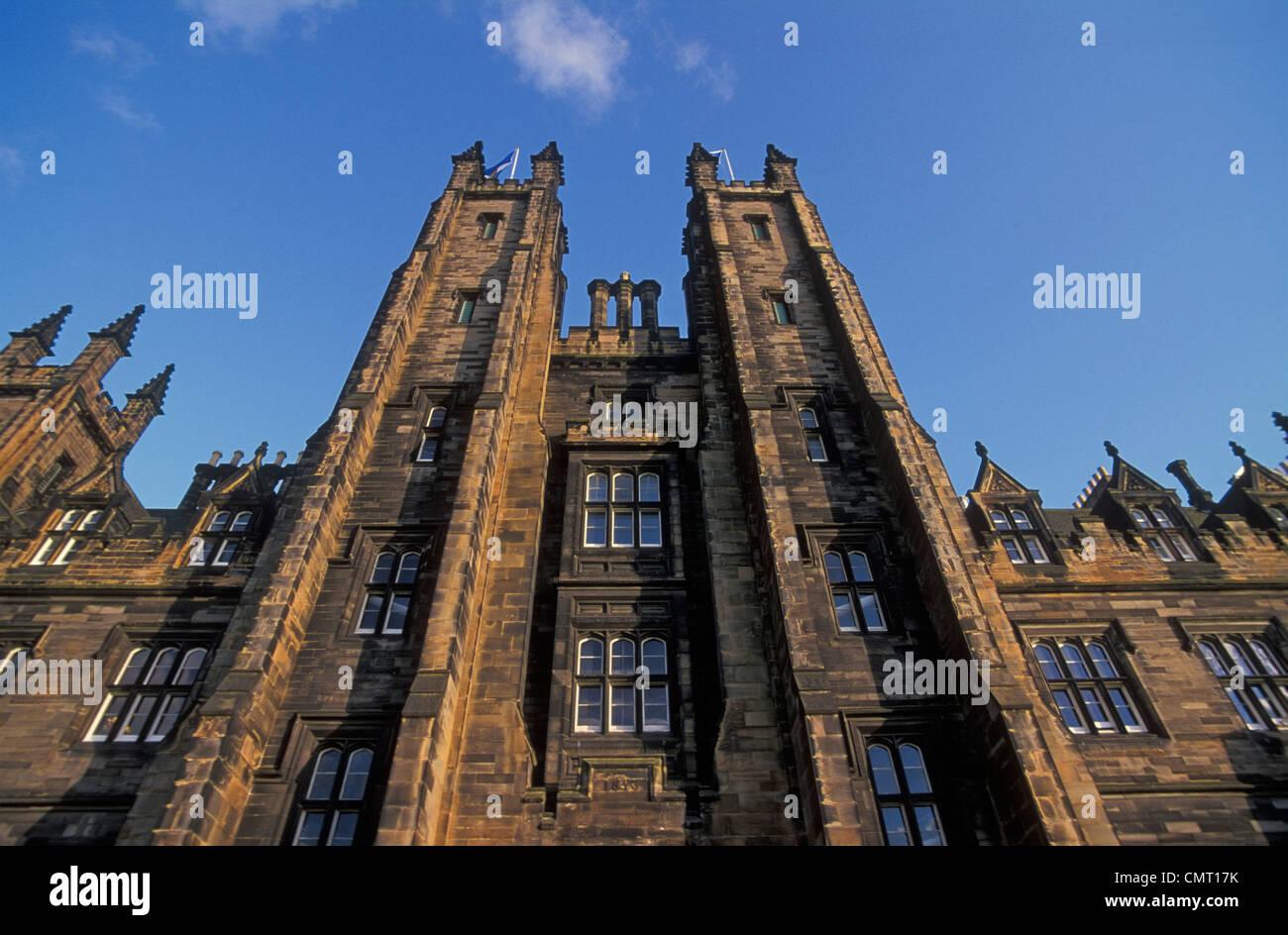 Edinburgh university faculty of divinity  Edinburgh Lothian Scotland UK GB EU Europe - Stock Image