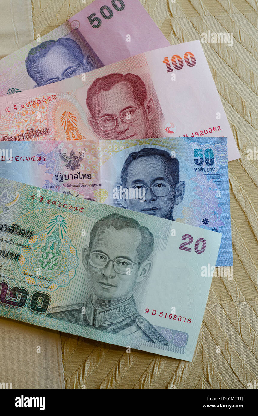 Thailand, Bangkok. Thai currency, the Baht Stock Photo: 47242178 - Alamy